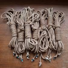 Traditional Hemp Shibari Style Rope