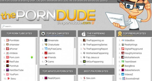 porn top sites rated