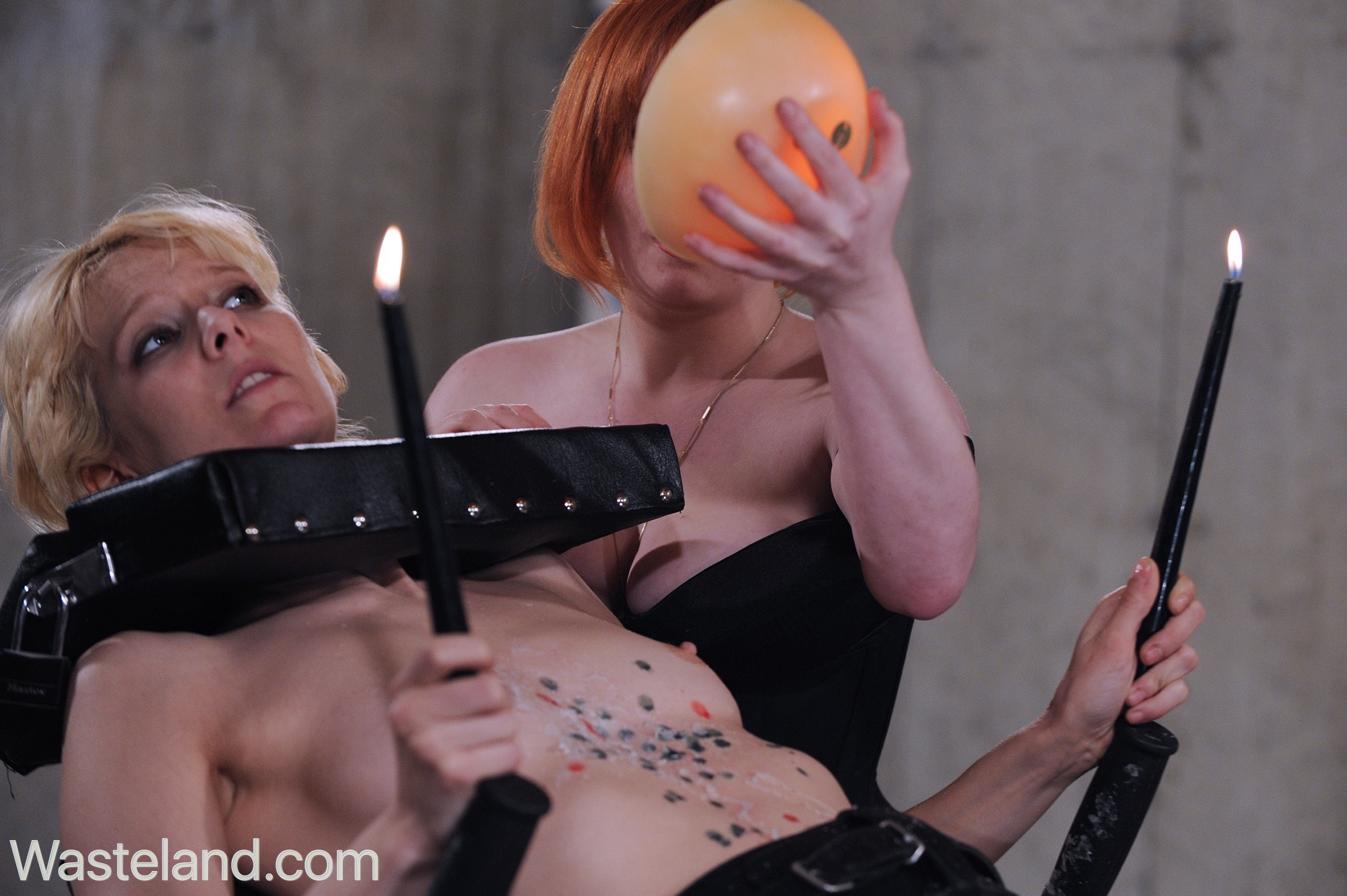 FemDom Fire Play Fetish Movie