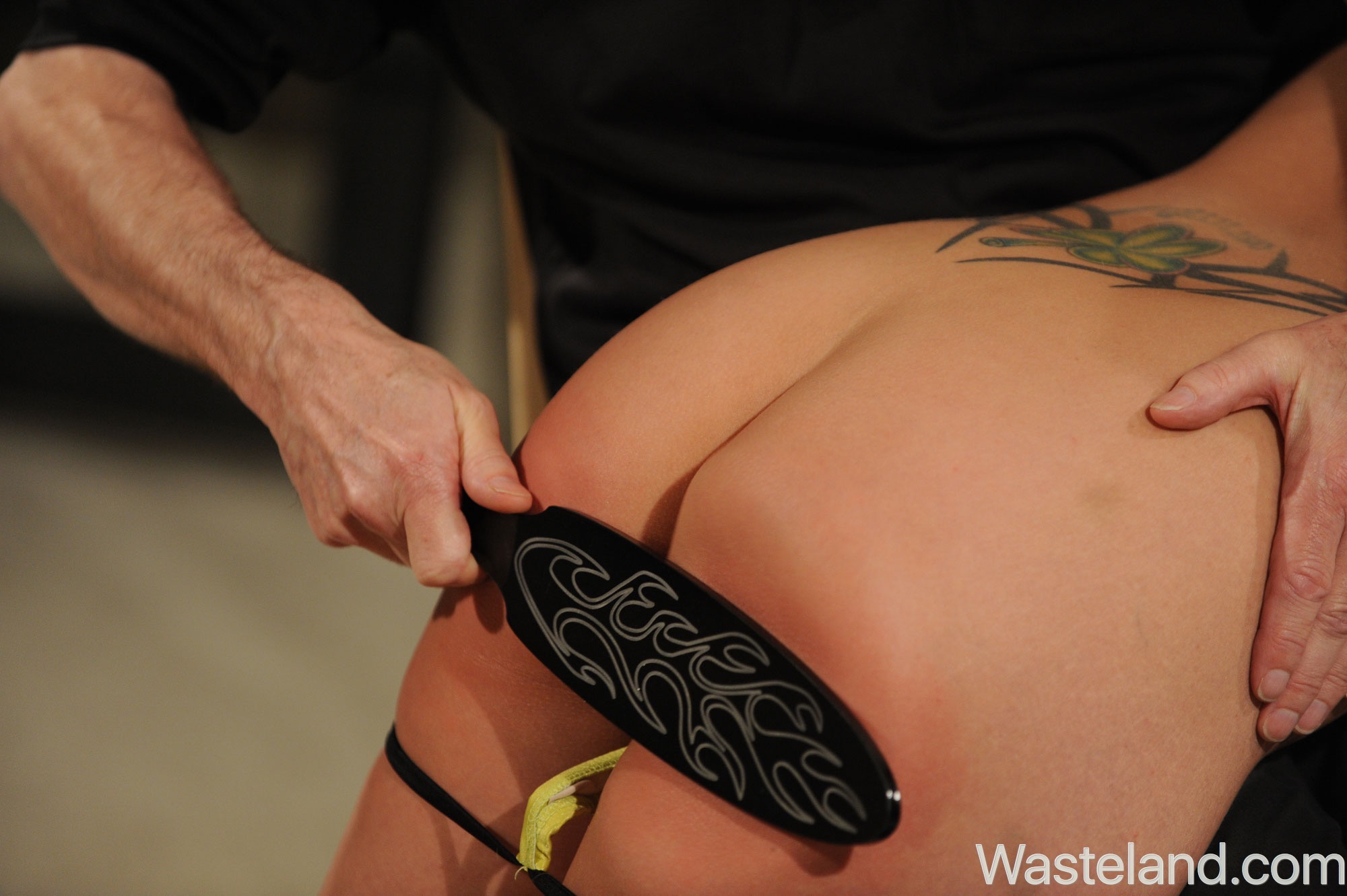 Salsa dance domination and spanking - 3 8