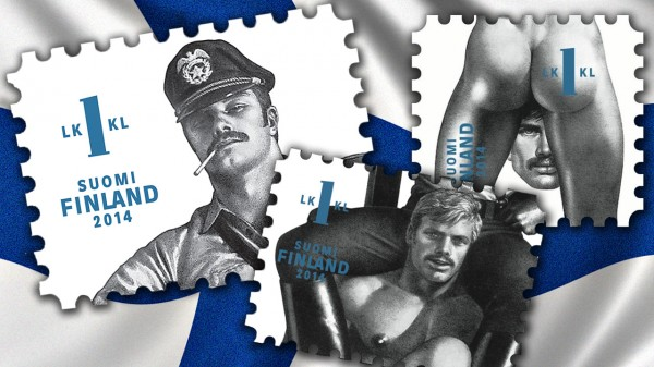 Tom of Finland to make postage stamp history!