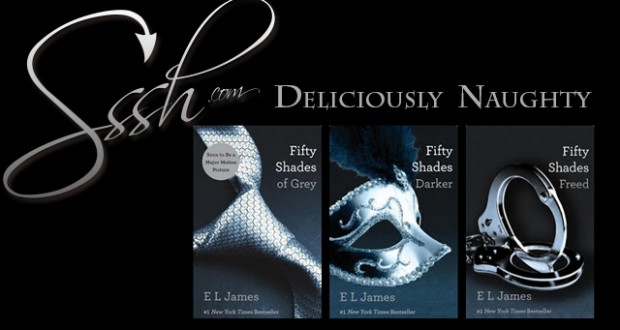 #Sssh50 Contest: Win a Signed Copy of the 50 Shades Trilogy