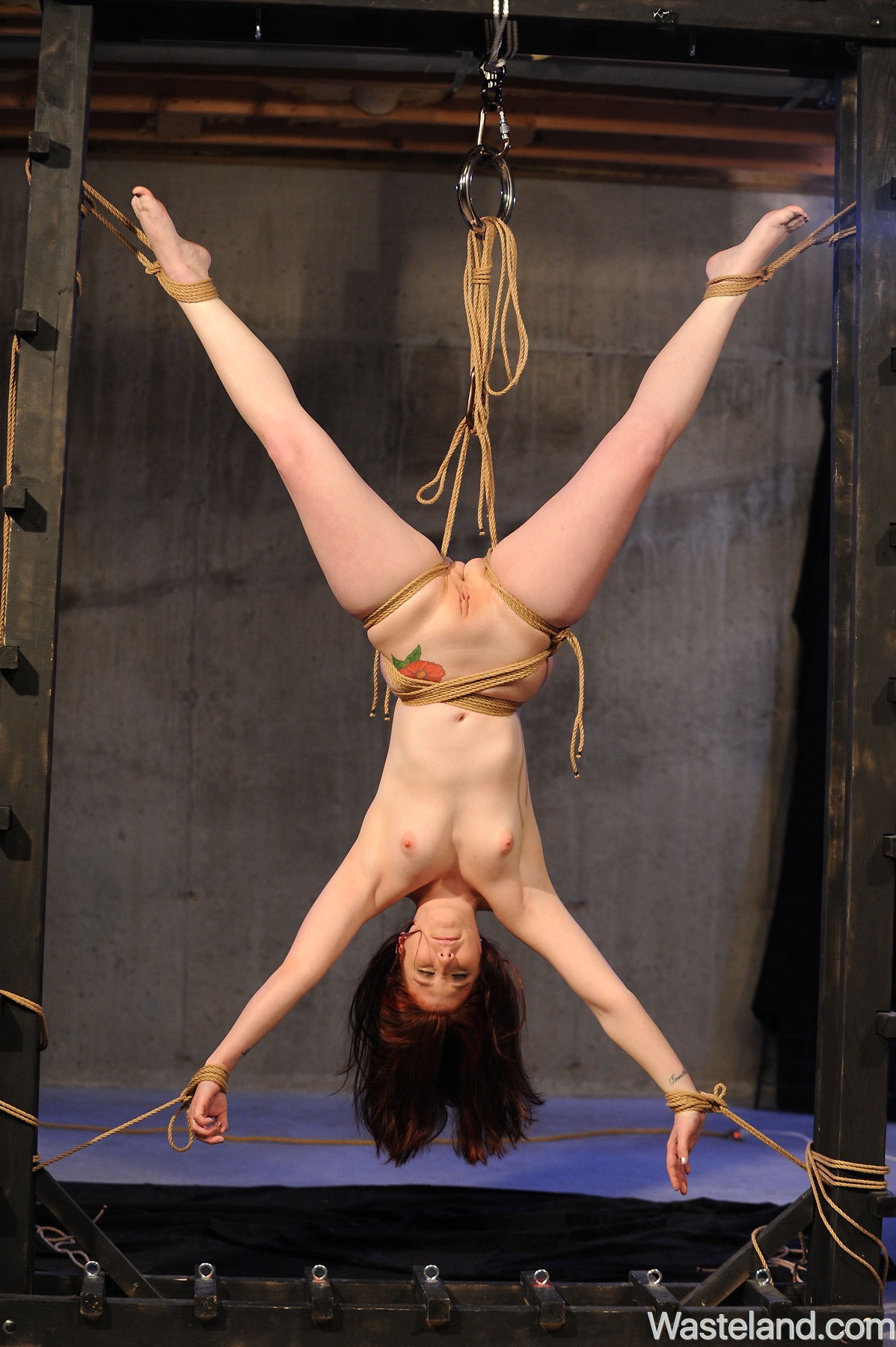 Bondage hentai suspension