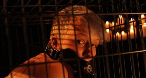 BDSM Humiliation Play – Kat In A Cage