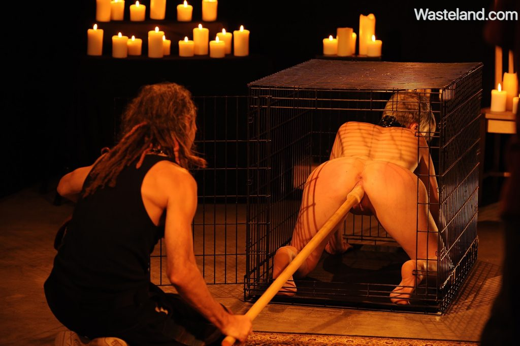 bdsm sex cage