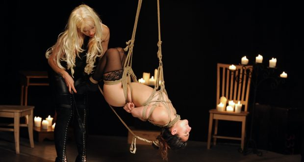 Shibari Rope Bondage – Swing High, Swing Low
