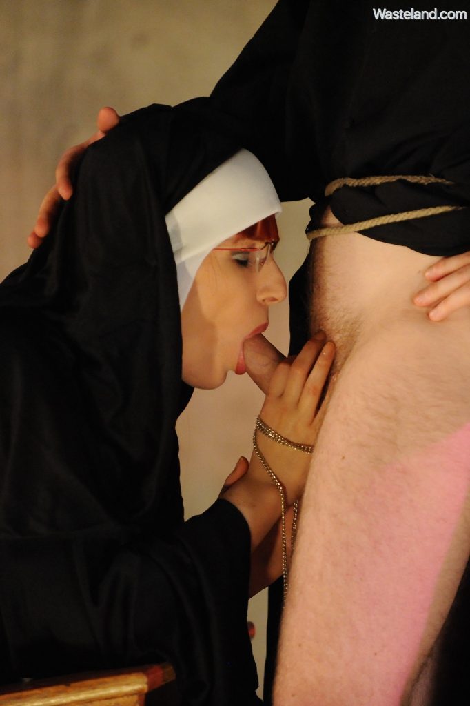 Religious nun fetish movie
