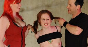 Lesbian BDSM Sex – Pigtails and Punishments.